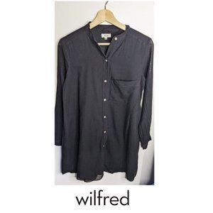 Aritzia Wilfred   Button-front Shirt Dress